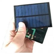 AST Works Mini 5V 1W 200mA 99x69mm Polycrystalline drip Sheet Solar Panel DIY Y9G3