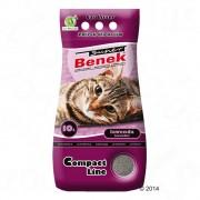 Benek Super Compact Lawenda żwirek dla kota - 10 l