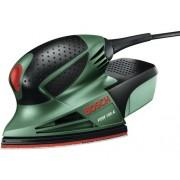 Slefuitor electric cu talpa delta Bosch PSM100A 100W 102x62/93 mm, accesorii incluse