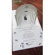 Invitatie de nunta superba Templu 3D