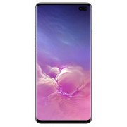 "Telefon Mobil Samsung Galaxy S10 Plus, Dynamic AMOLED Capacitive touchscreen 6.4"", 12GB RAM, 1TB Flash, Camera Tripla 12+12+16MP, 4G, Wi-Fi, Dual SIM, Android (Negru Ceramic)"