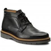 Обувки CLARKS - Newkirk Up Gtx GORE-TEX 261218837 Black Leather