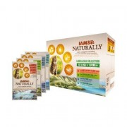 Iams Naturally Land and Sea Collection in Gravy Adult Cat Food 12x85g