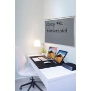 Grey Felt Noticeboard 1800x1200mm