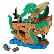 Fisher Price Trenino Thomas Sea monster - Nave dei Pirati