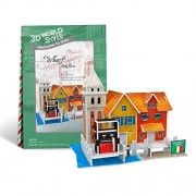 3D Puzzle - Wharf Italy Flavor - Do It Yourself Puzzle Toy For Children