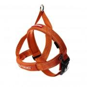 EzyDog Quick Fit Harnas - Hondentuig - Oranje - Size: 2XS