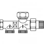 Oventrop Onderblok Uno 1 pijps M24x15 instelbaar 1182151