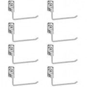 Doyours Stainless Steel Glossy Towel Holder - Set of 8 (Square series)