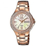 Casio Quartz Multi Round Women Watch SX099