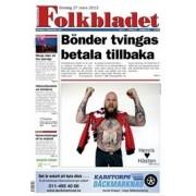 Tidningen Folkbladet 90 nummer