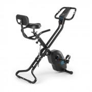 Azura X1 Bicicleta Ergométrica 120kg Monitor Pulsação Guiador 4 kg Preto