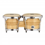Meinl Wood Bongos WB200NT-CH, Chrome Hardware