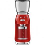 Rasnita de cafea Smeg CGF01RDEU, 150 W, 130 g, Rosu