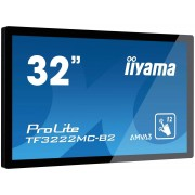 IIYAMA ProLite TF3222MC-B2 Monitor Led 32 Telaio Aperto Touchscreen 1920x1080 Full Hd Nero