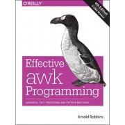Effective AWK Programming, 4e, Paperback/Arnold Robbins