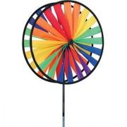Bold Innovations 21708 Wind Garden Rainbow Double Spinner Wheel