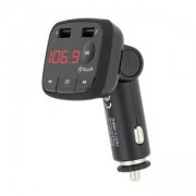 FM трансмитер Tellur B1, Bluetooth 2.1, микрофон, 2 x USB (3.4A), microSD, TLL622001
