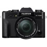 Fujifilm Systemkamera Fujifilm X-T20 XC 16-50 mm II 24.3 Megapixel Svart 4K-video, Full HD Video, Elektronisk sökare, WiFi