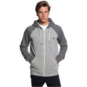 Quiksilver Everyday Zip Light Grey Heather EQYFT03849-SJSH Sweatshirt S