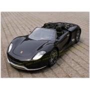 Radio Remote Control 1/14 Porsche 918 Spyder Sport R/C Model Car RC RTR (Black)