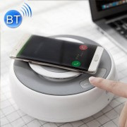 NILLKIN MC2 2-in-1 Qi Fast Wireless Charger Bluetooth Stereo Speakers with Aux Port Connection and NFC Play Music For iPhone 8/8 Plus/X Samsung Galaxy S8/S7/S6 Note5 Plus Edge and Qi-enabled Smartphone