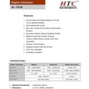 HTC Digital Barometer Altimeter AL-7010 With Temperature Compass