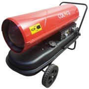 D 50T Calore Tun de caldura cu ardere directa , putere 50kW , termostat inclus , debit aer 1100mcb/h , combustibil motorina