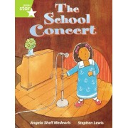 Rigby Star Guided Lime Level: The School Concert Single, Paperback/Angela Shelf Medearis