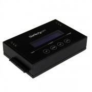 StarTech.com - Duplicador Clonador Autónomo Externo de Discos Duros HDD SATA de 14GBpm - Borrador Sanitizer