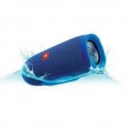 SPEAKER, JBL Charge 3 Bluetooth + вградена батерия с възможност за зареждане на мобилни устройства, Син