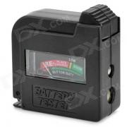 BT-860 1.5V ABS / 9V Probador de la bateria - Negro + Rojo