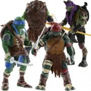 Smart Buy Teenage Mutant Ninja Turtles Action Figures Toy (Multicolour)- Set of 4 pcs