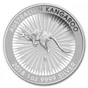 Kangaroo Investiční stříbro stříbrná mince 1 AUD Australian Klokan rudý 1 Oz 2018