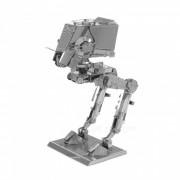 DIY rompecabezas 3D Metal Star Wars ATST montado modelo de juguetes-plata