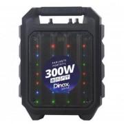 Parlante Portatil Dinax Get Up Bluetooth Micrófono Luces 300w Usb/tf