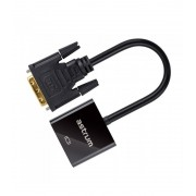 Astrum DA520 DVI Port - VGA apa adapter fekete (aktív)
