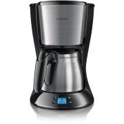 Cafetiera Philips HD7470/20, 1000W, 1.2l (Negru-Inox)