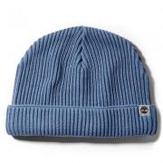 Timberland Bonnet En Coton Pour Homme En Bleu Bleu, Taille TAILLE UNIQUE