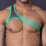 Leader Barcelona Gladiator Harness Green