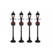 Lemax Gas Lantern Street Lamp 4 3V
