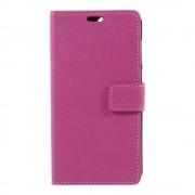 Shop4 - Asus Zenfone 4 (ZE554KL) Hoesje - Wallet Case Cross Grain Roze