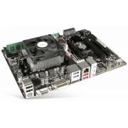AMD Mainboard-Bundle, AMD A6-6420K, 2x4,0 GHz, 8GB, USB 3.1