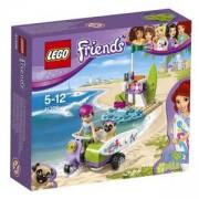 Конструктор ЛЕГО Френдс - Плажният скутер на Mia, LEGO Friends, 41306
