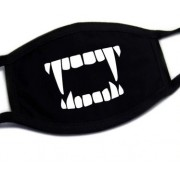 Ochranné masky na tvár textilné 100% bavlna - Upír