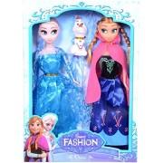Wish Key Frozen Princess Sisters Anna & Elsa With Snow Olaf