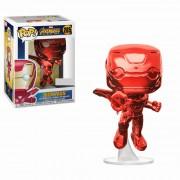 Funko Pop! Vinyl Marvel Avengers: Infinity War - Iron Man Rosso Cromato Figura Pop! Vinyl Esclusiva