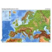 Tanulói munkalap, A4, STIEFEL Európa domborzata/ Az Európai Unió (VTM21)