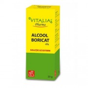 ALCOOL BORICAT 4% 20GR VITALIA PHARMA