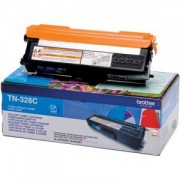 Тонер касета за Brother TN-328C Toner Cartridge High Yield (6000p.) for HL-4150/4570, MFC-9970 serie - TN328C